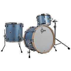 "Gretsch Drums USA Brooklyn 22"" Satin Ice Blue Metallic Drumset « Batería"