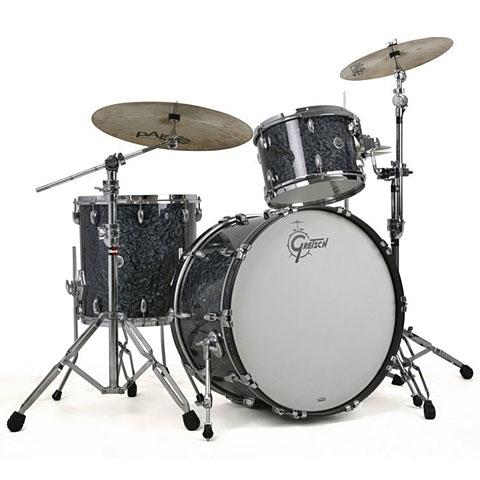 "Gretsch Drums USA Brooklyn 24"" Deep Marine Black Pearl Drumset"