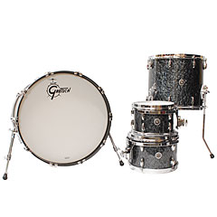 "Gretsch Drums USA Brooklyn 22"" Deep Marine Black Pearl Drumset « Drumstel"