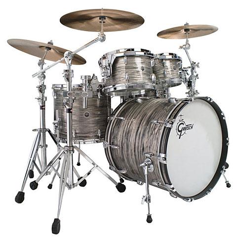 Gretsch Drums USA Brooklyn 22  Grey Oyster Drumset