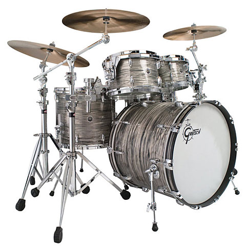 Gretsch USA Brooklyn 22  Grey Oyster Drumset