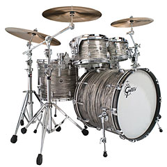 "Gretsch Drums USA Brooklyn 22"" Grey Oyster Drumset « Batería"