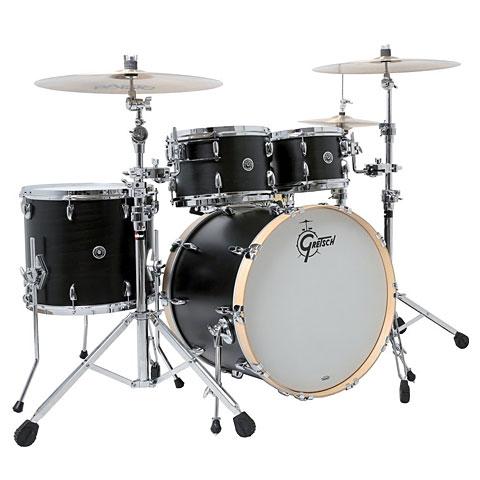 Gretsch Drums USA Brooklyn 22  Satin Dark Ebony Drumset