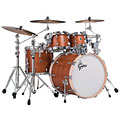 "Gretsch Drums USA Brooklyn 22"" Satin Mahogany Drumset « Batterie acoustique"