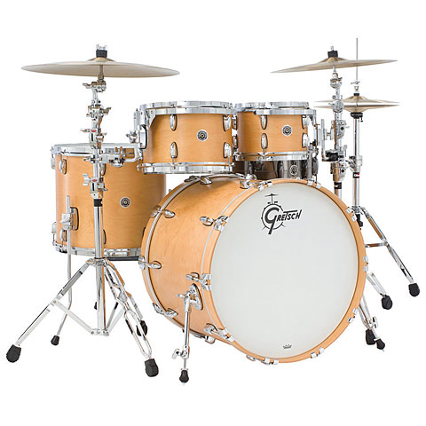 Gretsch Drums USA Brooklyn 22  Satin Natural Drumset