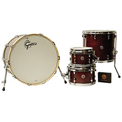 "Gretsch Drums USA Brooklyn 22"" Satin Cherry Red Drumset « Schlagzeug"