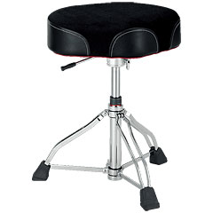 Tama 1st Chair HT750BC Ergo-Rider Hydraulix Cloth Top « Siège de batterie
