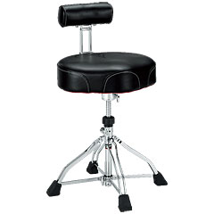 Tama 1st Chair HT741B Ergo-Rider Quartet with Backrest « Stołek perkusyjny