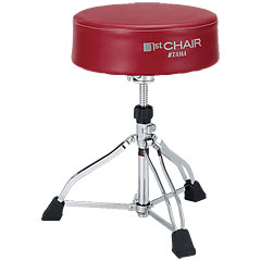Tama 1st Chair HT830R Round Rider XL Red Trio « Siège de batterie
