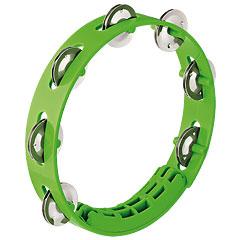 """Nino 8"""" Grass-Green ABS Compact Tambourine « Tambourin"""