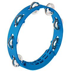 "Nino 8"" Sky-Blue ABS Compact Tambourine « Tamburello"