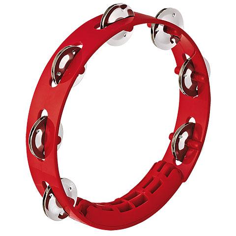 Nino 8  Red ABS Compact Tambourine