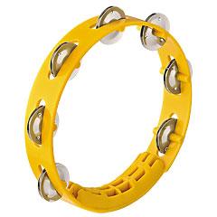 """Nino 8"""" Yellow ABS Compact Tambourine « Tambourin"""