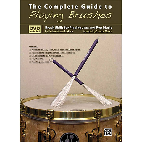 Libros didácticos Alfred KDM The Complete Guide to Playing Brushes