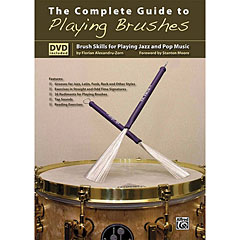 Alfred KDM The Complete Guide to Playing Brushes « Leerboek