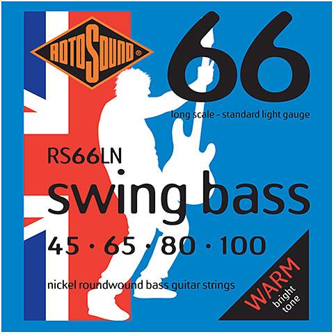 Cuerdas bajo eléctrico Rotosound Swingbass RS66LN