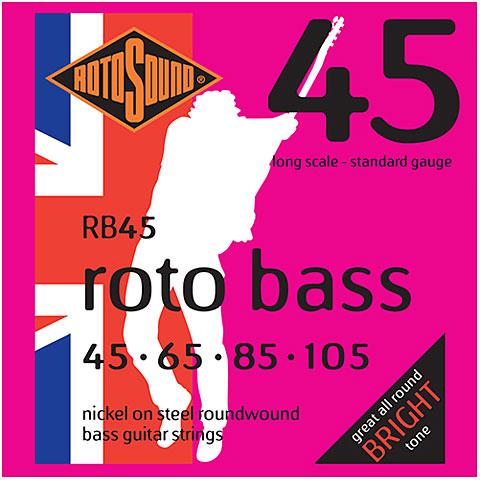 Saiten E-Bass Rotosound RB 45 045-105