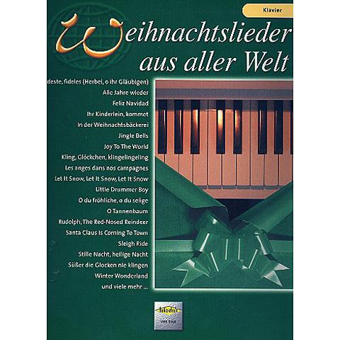 Libro de partituras Holzschuh Weihnachtslieder aus aller Welt