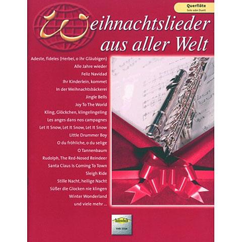 Libro de partituras Holzschuh Weihnachtslieder aus aller Welt for Flute