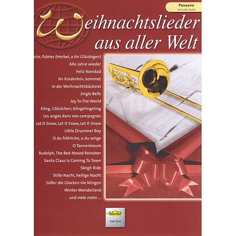 Holzschuh Weihnachtslieder aus aller Welt for Trombone