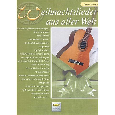 Holzschuh Weihnachtslieder aus aller Welt for Guitar/Vocal