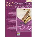 Libro di spartiti Holzschuh Weihnachtslieder aus aller Welt for Tenor Saxophon