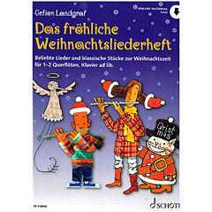 Schott Das fröhliche Weihnachtsliederheft for Flute « Bladmuziek