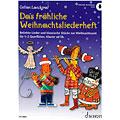Нотная тетрадь  Schott Das fröhliche Weihnachtsliederheft for Flute