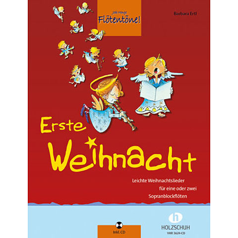 Holzschuh Erste Weihnacht for 1-2 Recorder