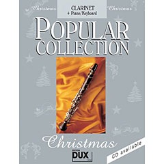 Dux Popular Collection Christmas for Clarinet/Piano « Libro de partituras