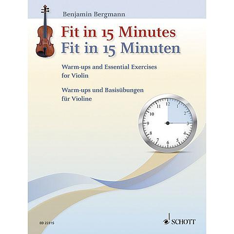 Schott Fit in 15 Minuten for Violin