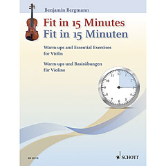 Schott Fit in 15 Minuten for Violin « Leerboek