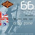 Χορδές ηλεκτρικού μπάσου Rotosound drop zone RS66LH