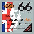 Cuerdas bajo eléctrico Rotosound drop zone RS66LH+