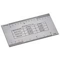 Herramientas para guitarra y bajo Rockbag Rock`n Ruler