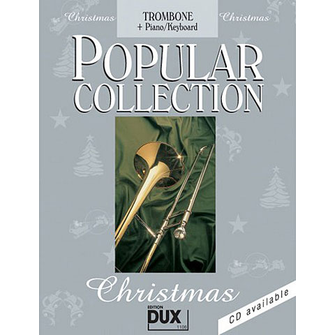 Dux Popular Collection Christmas für Posaune und Klavier