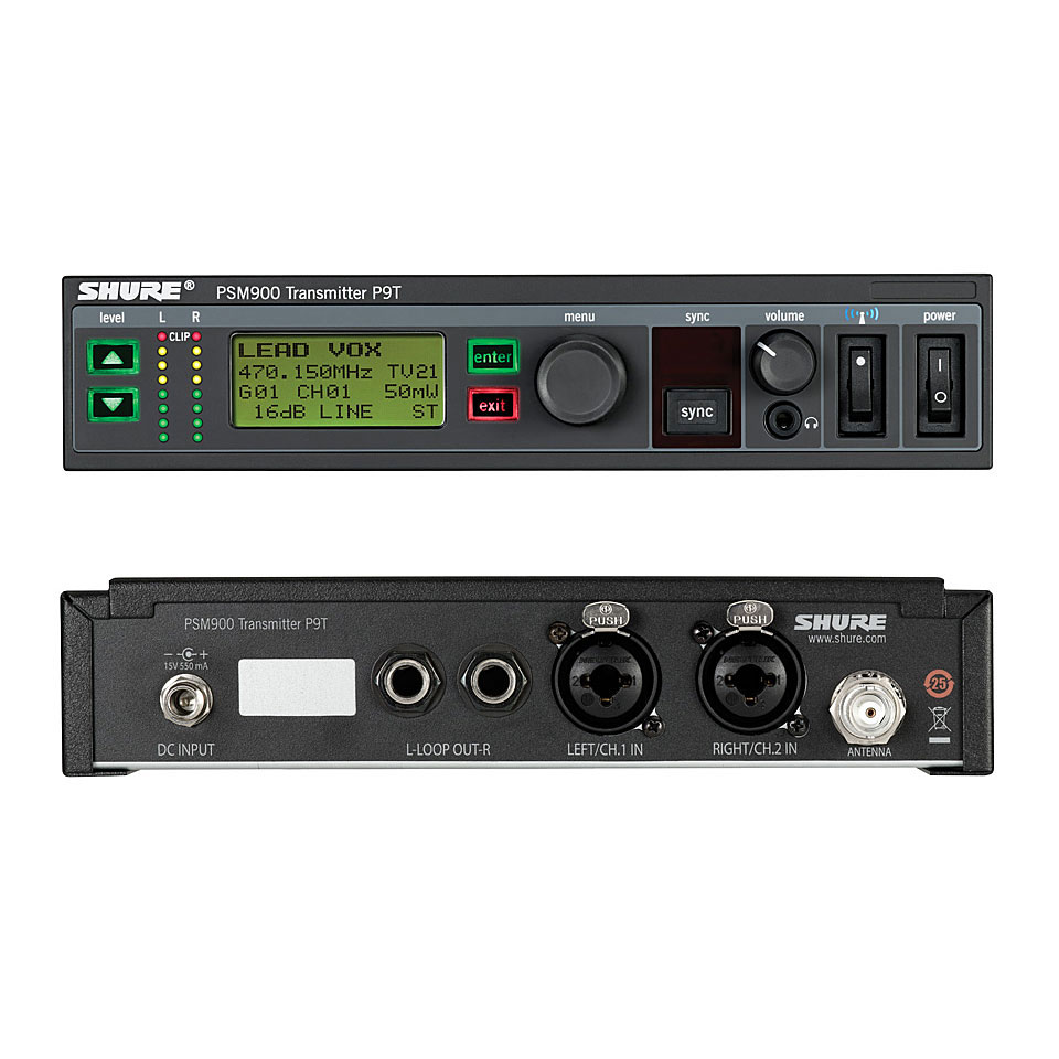 Shure Psm 900 K1e 171 In Ear Monitoring System