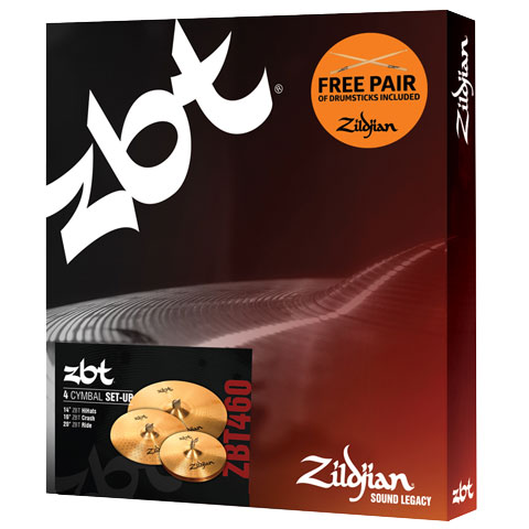 Zildjian ZBT Box Set 14HH/16C/20R