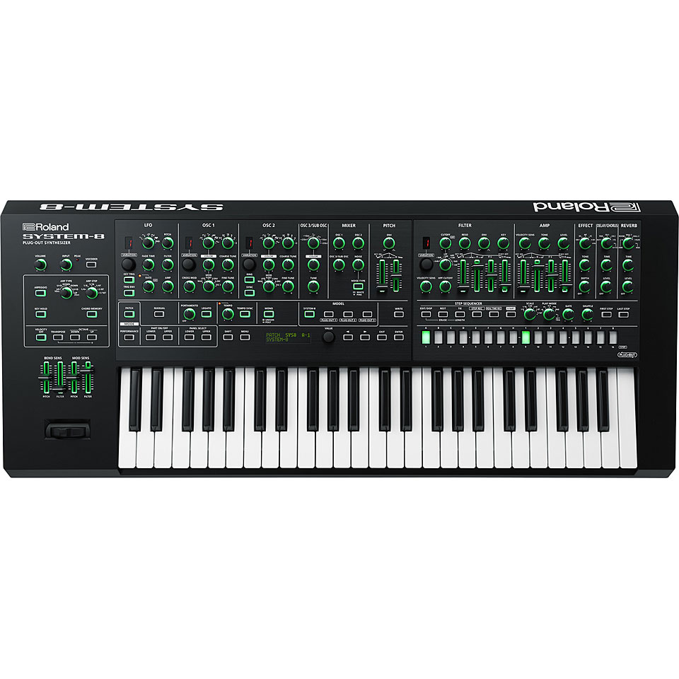 Roland Aira System 8 171 Synthesizer Musik Produktiv