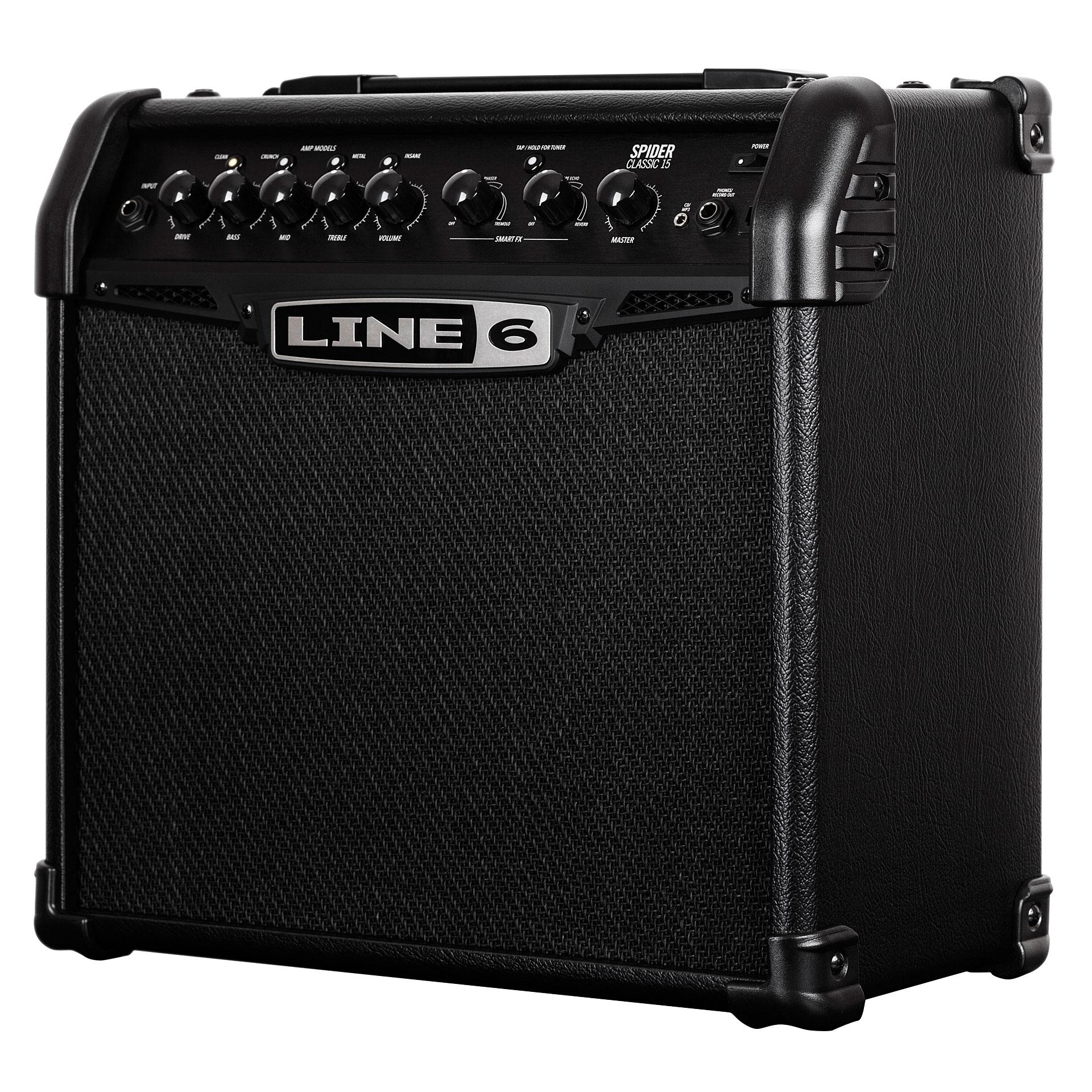 line 6 spider classic 15 guitar amp. Black Bedroom Furniture Sets. Home Design Ideas