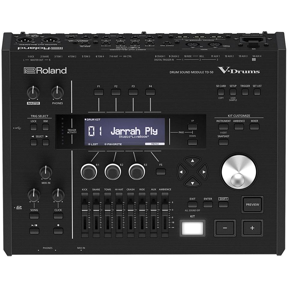 Edrummodule - Roland TD 50 Drum Sound Module E Drum Modul - Onlineshop Musik Produktiv