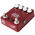 Pedal guitarra eléctrica JHS Ruby Red