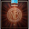 Set di corde per chitarra western e resonator D'Addario NB1047-12 Nickel Bronze .10-047