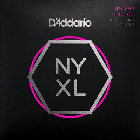 Cuerdas bajo eléctrico D'Addario NYXL45130SL Set