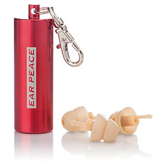 Ear Peace HD High Fidelity - red « Protección para oidos