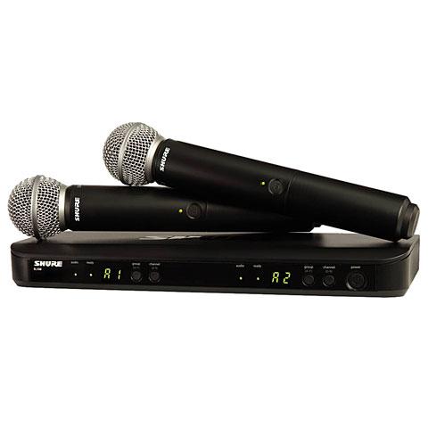 Micrófono inalámbrico Shure BLX288E/SM58-S8