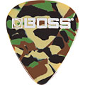 Plektrum Boss Camo, thin (12 Stk.)
