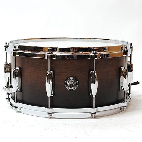 Gretsch Renown Purewood Walnut 14 x 6,5  Satin Walnut Black Fade