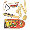 Voggenreiter Voggy's Kinder Percussion-Set « Percussie set