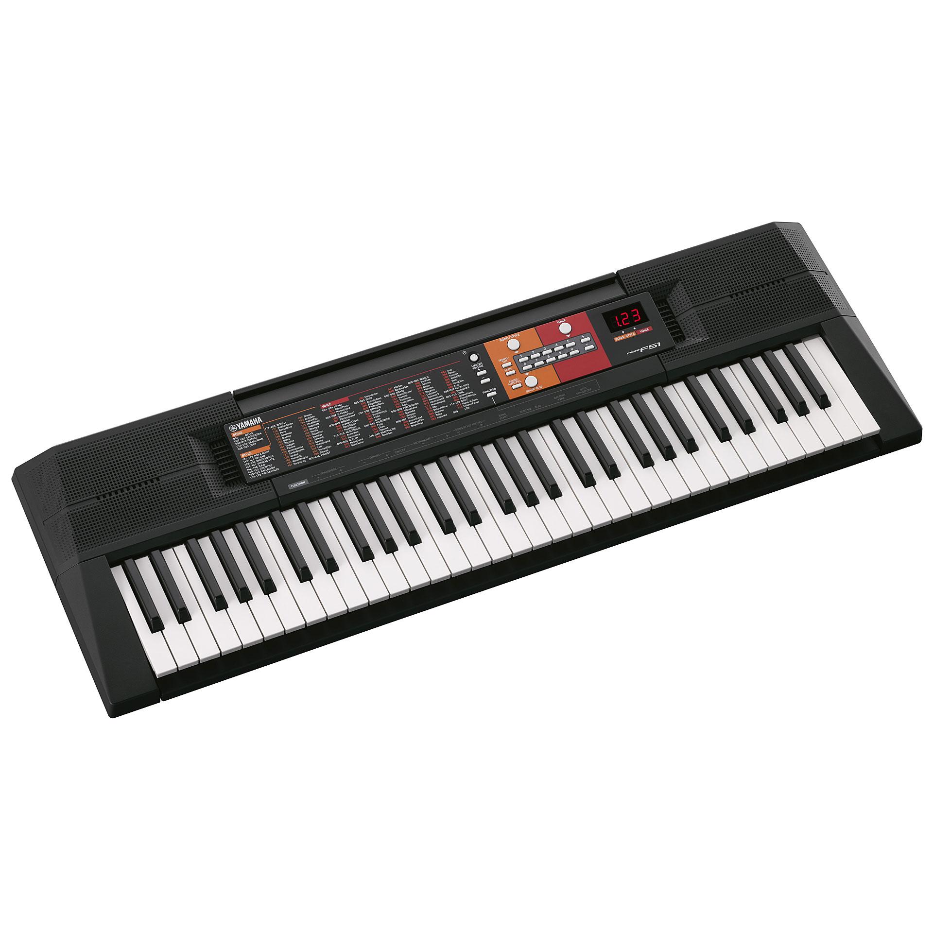 Yamaha Keyboard Instruction Manual